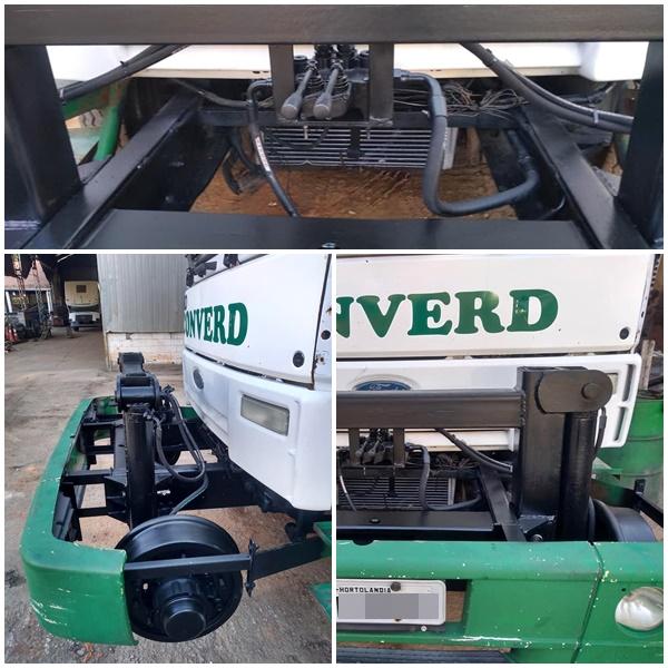 Kit Transformação de caminhão rodoferroviário, adaptação de caminhão para andar em trilho de trem na região de Campinas, Valinhos